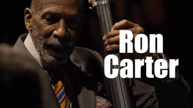 ロン・カーターの最新ライヴ映像100分公開