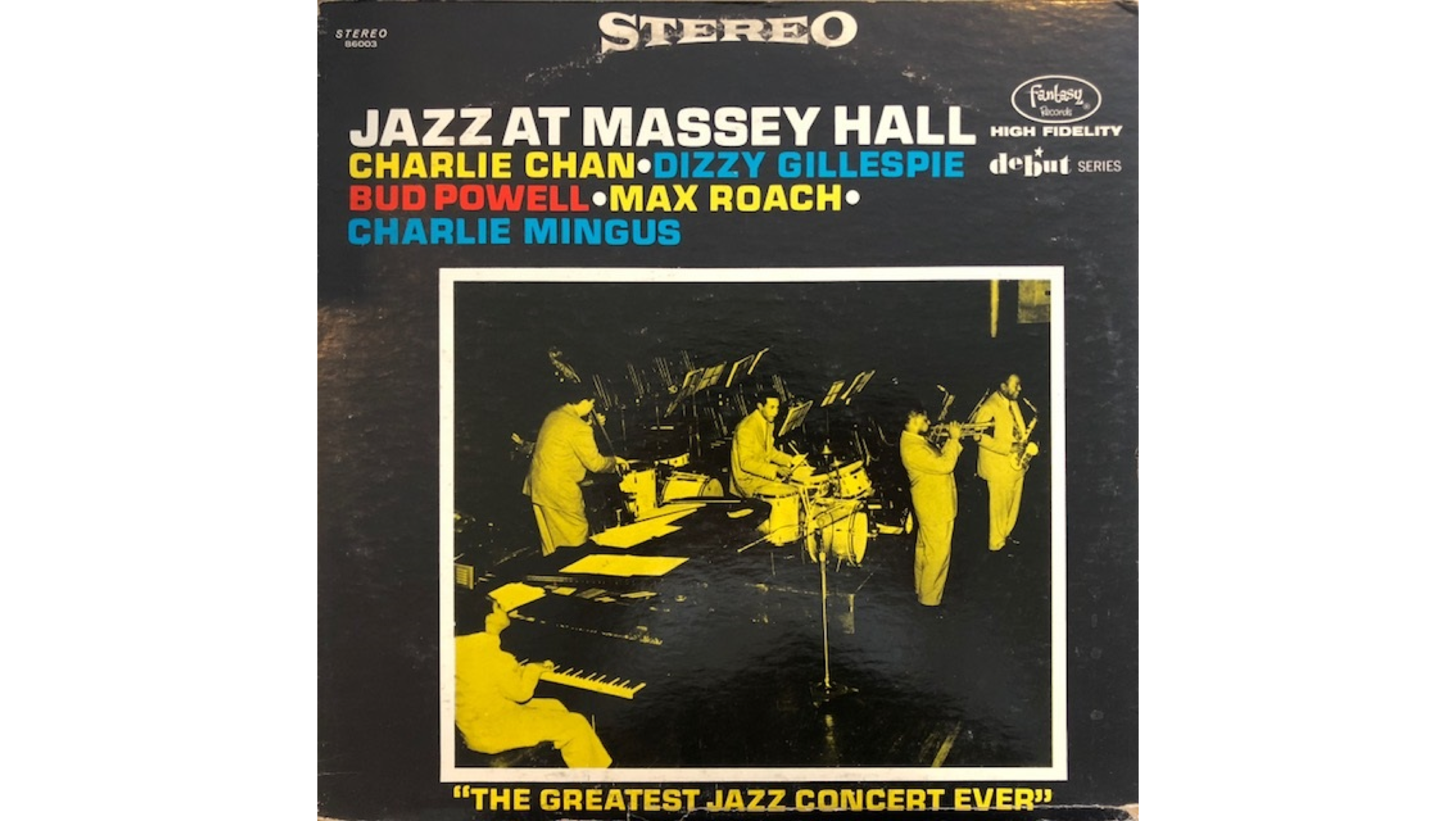 ジャズの名盤紹介『Jazz At Massey Hall』