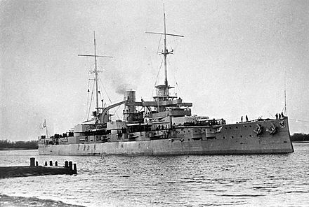 第一次世界大戦時の戦艦